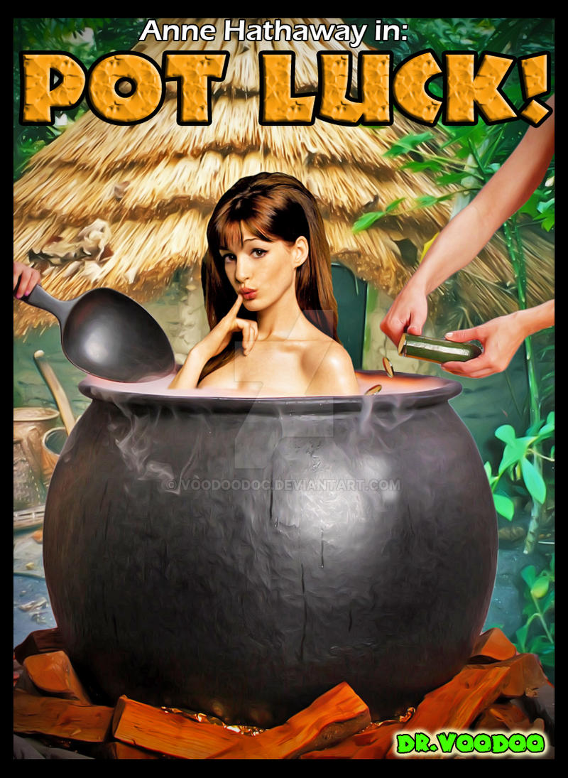 Image girl in cannibal pot