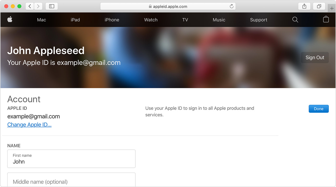How to change user on iphone